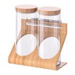 RIMFORSA stojak na szkło / bambus