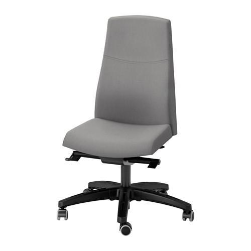 VOLMAR Krzesło robocze Unnedred szary