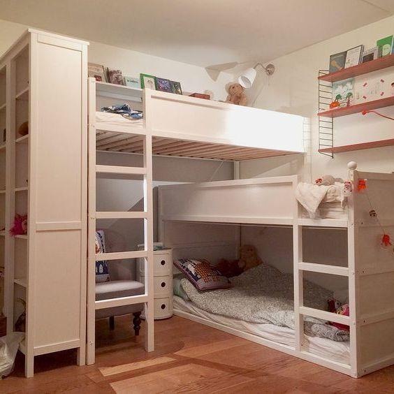 Kompakte Kinder für drei Kinder