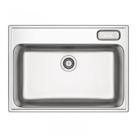 BUCHOLMEN Single-mortise sink - 76x55 cm