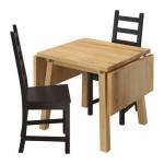 МОККЕЛЬБЮ / КАУСТБИ Стол и 2 стула