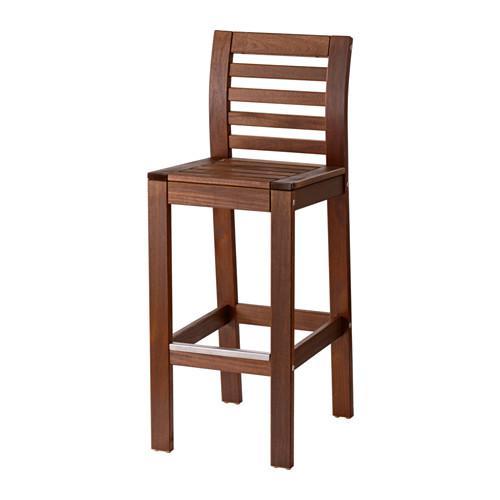 ЭПЛАРО Барный стул, садовый