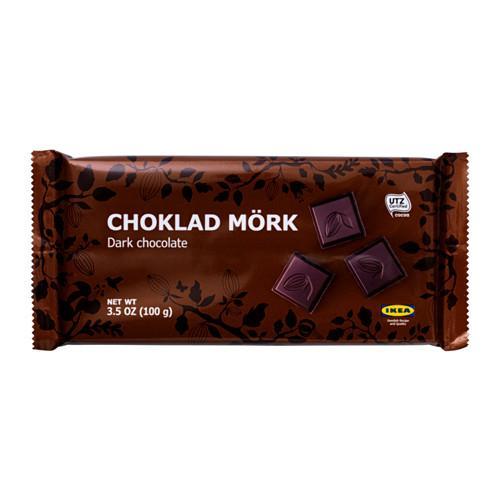 CHOKLAD MÖRK Bitter Chocolate UTZ Certificate