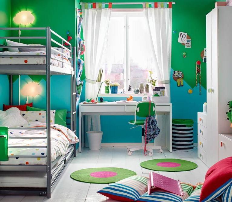 Chambre de rêve pour deux garçons