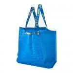 FRAKTA сумка, средняя синий 18x45 cm