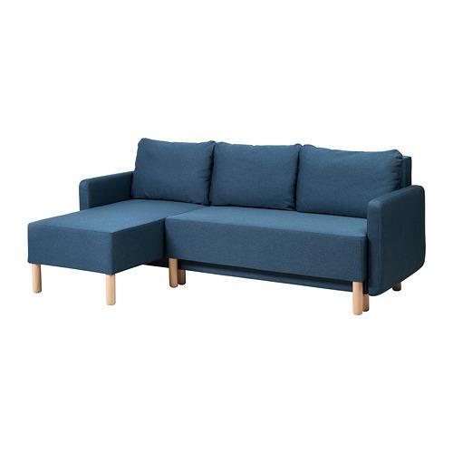 BENNEBOL 3-seat sofa-bed (504.281.13) - reviews, price ...