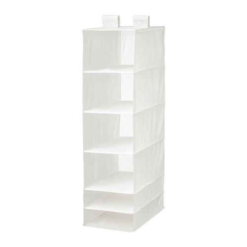 СКУББ Модуль для хранения с 6 отделениями - белый