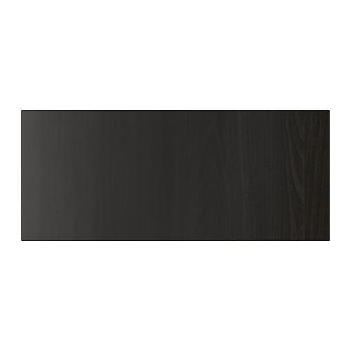 ЛАППВИКЕН Фронтальная панель ящика - черно-коричневый