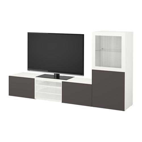 Best mobile tv combinato porta di vetro bianco - Guide per cassetti ikea ...