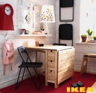 Interiér IKEA stolovanie