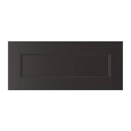ВАСБУ Фронтальная панель ящика - черно-коричневый