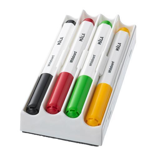 MÅLA фломастер для доски разные цвета