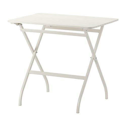 МЭЛАРО Садовый стол - белый