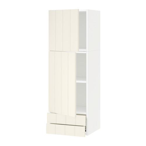 VERFAHREN / FORVARA Wandschrank / 2dvertsy / 2yaschika - weiß, mit einem Hauch von Weiß Hitarp, 40x120 cm