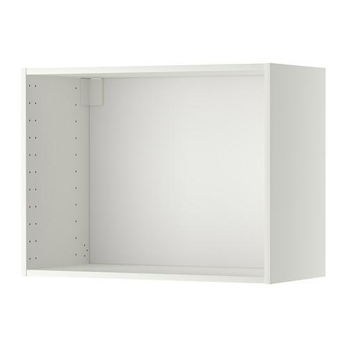 МЕТОД Каркас навесного шкафа - 80x37x60 см, белый