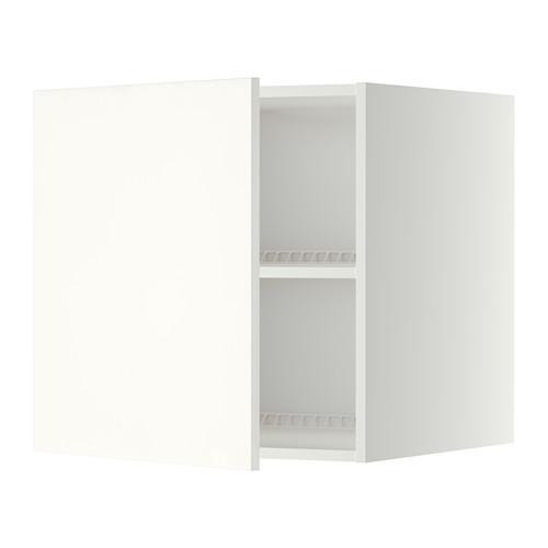 МЕТОД Верх шкаф на холодильн/морозильн - 60x60 см, Хэггеби белый, белый