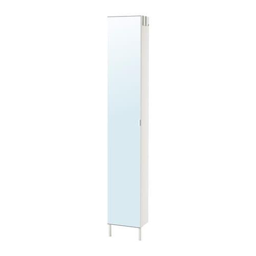 LILLONGEN Armario alto con puerta espejo