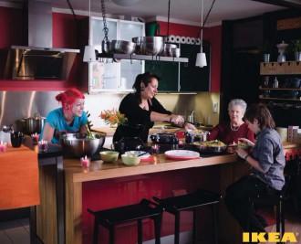 Interior dapur IKEA