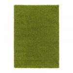 ХАМПЭН Ковер, длинный ворс - ярко-зеленый, 160x230 см