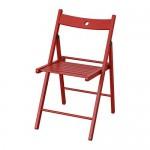 TERJE red folding chair