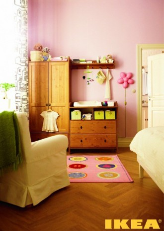 Interior small child's room