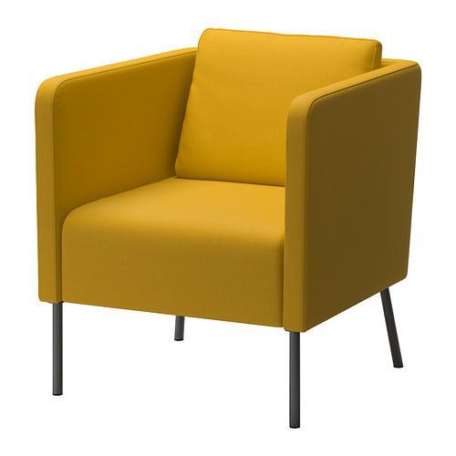 ЭКЕРЁ Кресло - Шифтебу желтый, Шифтебу желтый