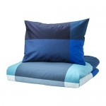 BRUNKRISSLA Duvet Cover and 1 Pillowcase
