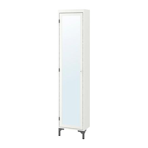 SilverÅn Tall Cabinet With Mirror Door, Ikea Mirror Cabinet Tall