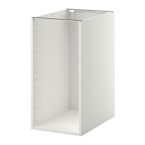 МЕТОД Каркас напольного шкафа - белый, 40x60x80 см