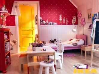 Child's room for a girl photos