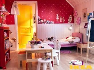 Kinderzimmer für ein Mädchen Fotos