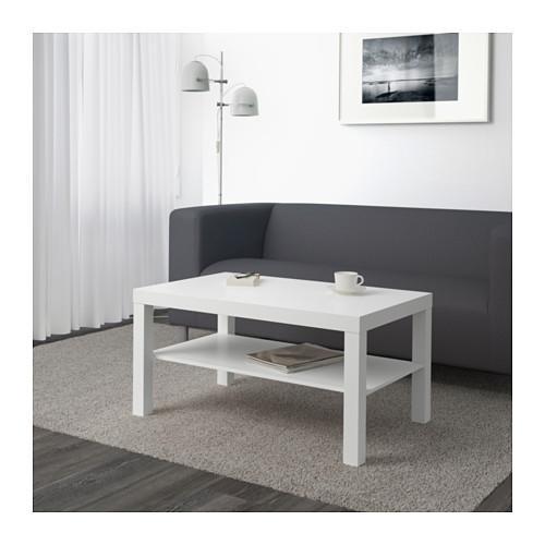 LACK table basse blanche 90x55x45 cm