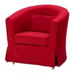 ЭКТОРП ТУЛЬСТА Чехол кресла - Идему красный