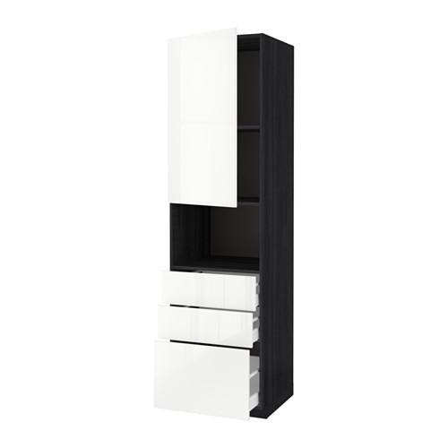 methode maksimera hochschrank d mikrowelle t r. Black Bedroom Furniture Sets. Home Design Ideas