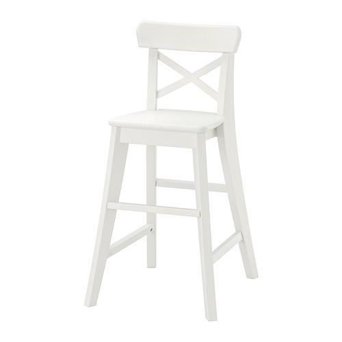 ИНГОЛЬФ Детский стул - белый