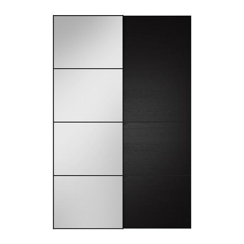 АУЛИ / ИЛЬСЕНГ Пара раздвижных дверей - 150x236 см, устройство д/плавн закрывания