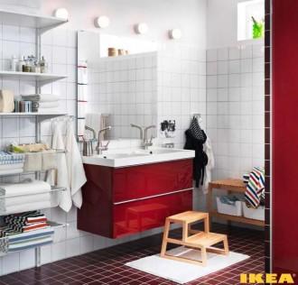 Bathroom interior per tutta la famiglia 9 metri quadrati