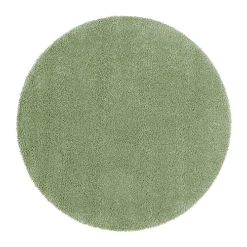 ÅDUM halı, uzun şekerleme açık yeşil 130 cm