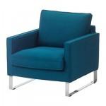МЕЛБИ Чехол кресла - Шифтебу бирюзовый