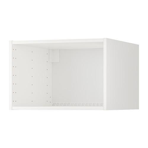 МЕТОД Каркас верхн шкафа на холод/морозил - белый, 60x60x40 см
