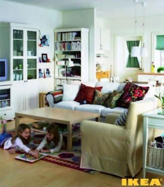 Interieur woonkamer