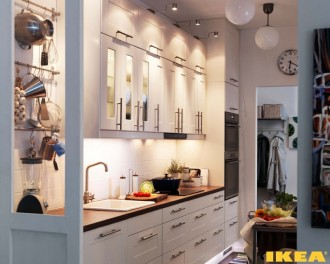 IKEA kjøkken interiør