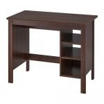 БРУСАЛИ Письменный стол - коричневый
