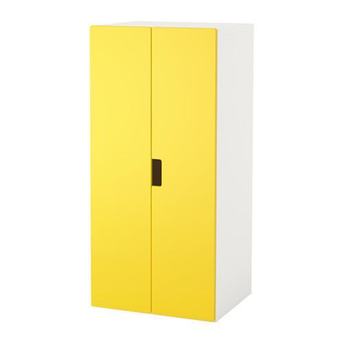 Stuva Storage Combination With Doors White Yellow