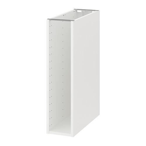МЕТОД Каркас напольного шкафа - 20x60x80 см, белый