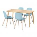 LISABO / LEIF Arne 4 bord og stoler