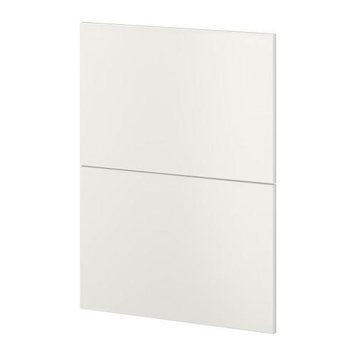 METOD 2 mutfak eşyaları için ön panel Düğün makinesi beyaz 60x88 cm