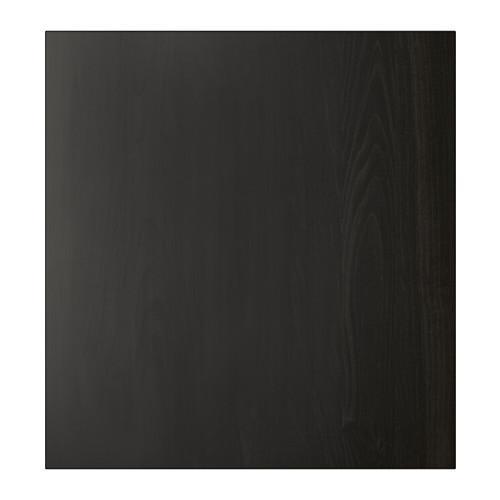 ЛАППВИКЕН Дверь - черно-коричневый