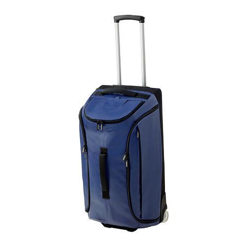 УПТЭККА Спортивная сумка на колесиках - темно-синий