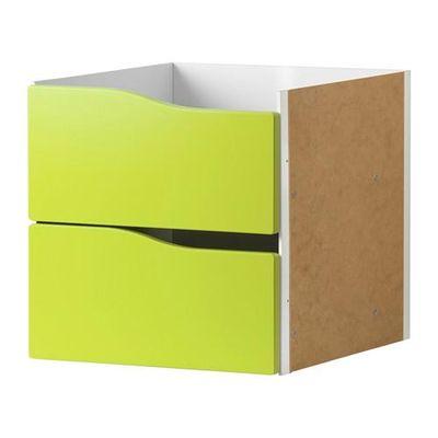 Kallax box mit 2 boxes gr n 20301568 bewertungen - Schubladen kallax ...